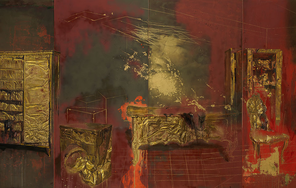 Julio-Vaquero-pintura-de-los-muebles-de-oro
