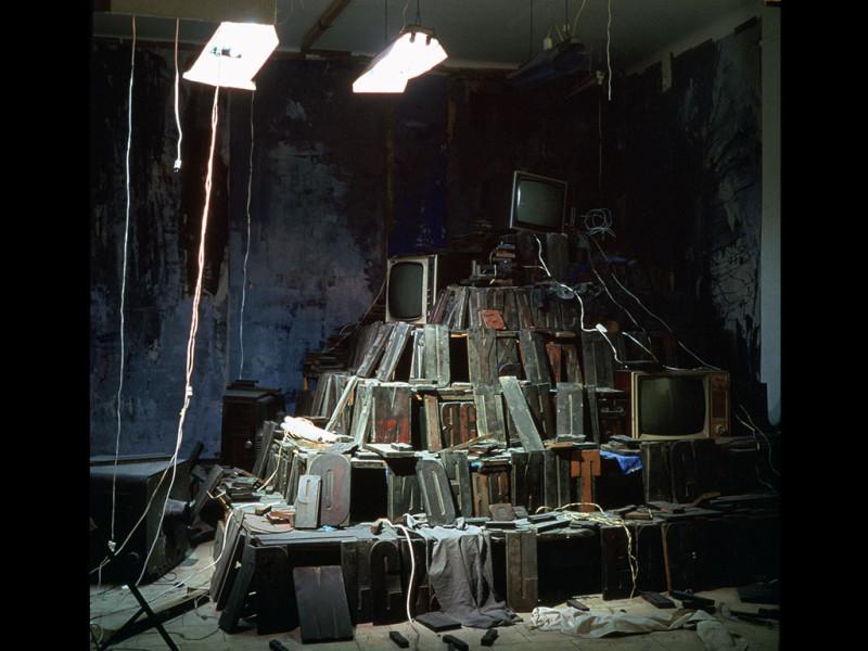 Zigurat de misterios – instalación