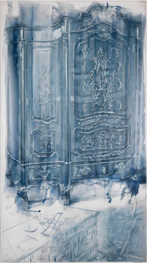 juliovaquero-2016-Armario-azul-palido