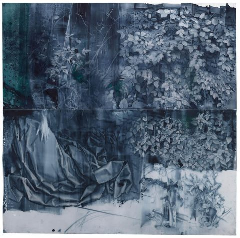 Julio Vaquero - 2019/2020 - Bosque de van der Weyden - 197,5 x 200 cm