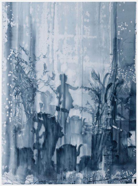 Julio Vaquero - 2020 - Dibujo tras el velo - 106 x 78 cm