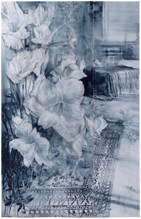 Julio Vaquero - 2019/2020 - Grandes seres blancos - 211 x 136 cm